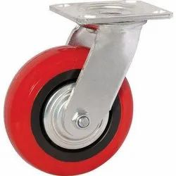 Plate Mounted Caster Wheel