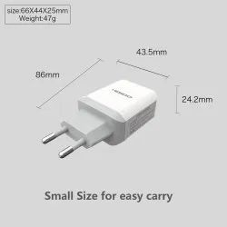 White Yesido Mobile Charger