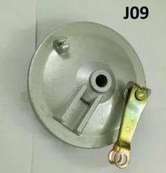 15MM x 130MM Brake Shoe Plate Digital, Model Name/Number: J09