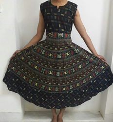 Jaipuri Cotton Dress
