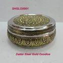 Dabba Steel Gold Oxidise