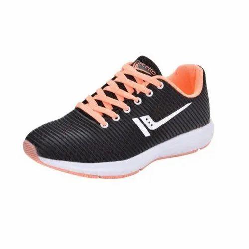 Black Calcetto Men Sports Shoes, Size