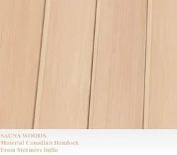 Light Brown Sauna Wood Panels