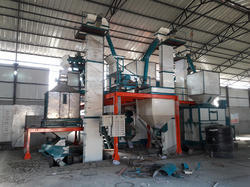 Semi Vertical Poultry Feed Plant