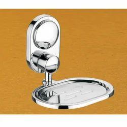 Kresha Stainless Steel Soap Dish Krupa Series, Model Name/Number: Sg-404, Size: 12 X 11 X 9 Cm