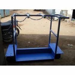 Mild Steel 6 Cylinder Trolley
