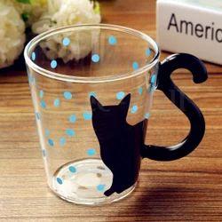 Mug Cup Tea Animal Coffee Creative Milk Cat Glass OPwZTkiXu