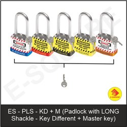 Lockout Padlock With Long Shackle - KD M