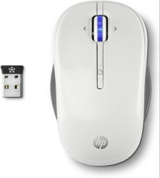 HP X3300 Wireless Mouse (White)