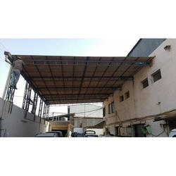 Iron Fabricated Roofing Shed Fabrication, in Jamnagar, For Industrial