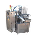 Cup Sealing Machine with Stainless Steel Body