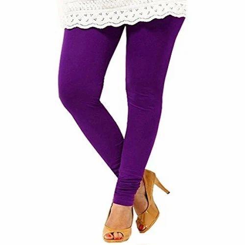7eb68f1f20b3a Ruzzell Purple Ladies Leggings, Size: S, M, Rs 199 /piece | ID ...