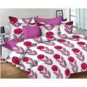 Printed Cotton Satin Bedspread