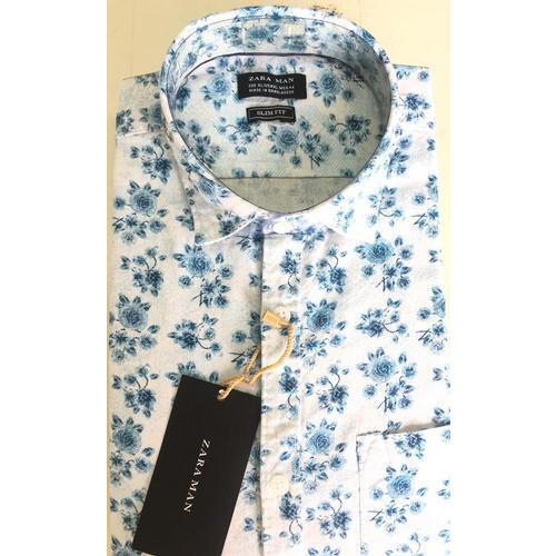 6fb5ee4e699cbc Zara Man Cotton Mens Flower Print Shirt, Rs 310 /piece, Meghana ...