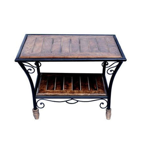 Tayyaba Enterprises Solid Sheesham Wood Modern Wood Coffee Table, Size: 24 X 18 X 18 Inch