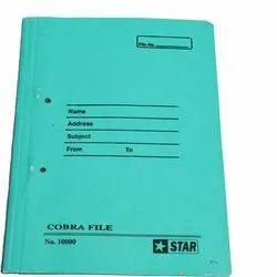 Paper Board Cobra File Folder