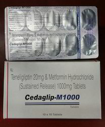 Teneligliptin And Metformin Hydrochloride SR Tablets, Usage: Clinical