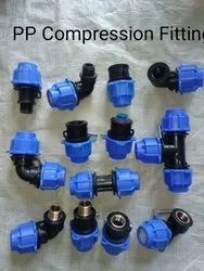 Plastic Adapters PP Compression Fitting, For Water use, 10kg