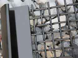 Rectangular, Square Ferous & Non Ferrous Metal Industrial Screen Wire Mesh, for Domestic