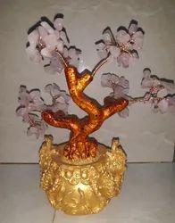 Natural Rose Quartz Beads Tree