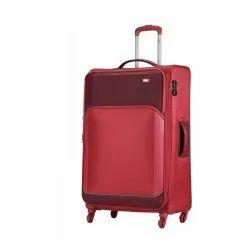 VIP 56 cm Carmine Red Beat 4W Exp Strolly Soft Luggage Bag