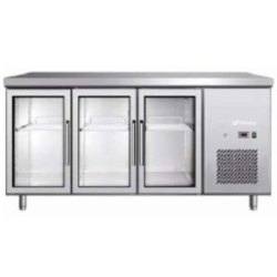 Three Door Under Counter Refrigerator