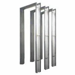 Pressed Steel Door Frame, Dimension/Size: 3 X 7 Feet