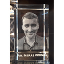 3D Photo Crystal Engraved