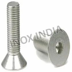 SS 316 Flat Head CSK Screws