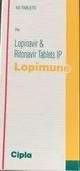 Lopimune Lopinavir and Ritonavir
