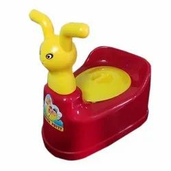 Maxwell Polyplast Multi Colour Baby Potty Chair, Age Group: 3-12 Months