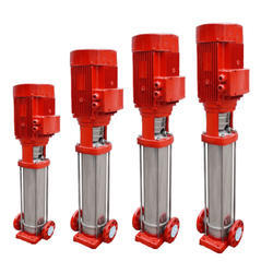 Fire Fighting Pumps-Vertical Multistage