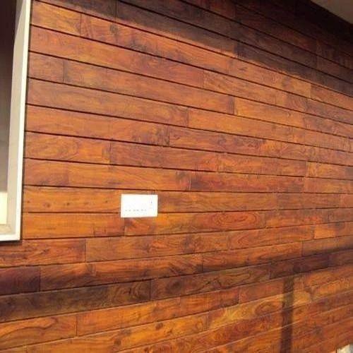 Brown Wood Shera Wall Cladding Rs 160 Square Feet Nda