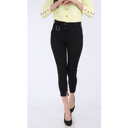 Ladies Cotton Lycra Pants