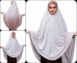 2 Shade Islamic Wear Stitched Scarf Hijab