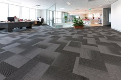 Wooden Office Flooring Service, Size: 20