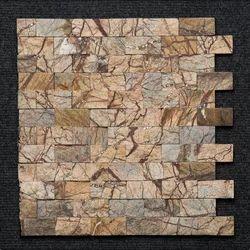 Bidasar Brown Brick Mosaic