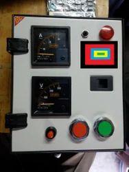 Powder Coated Ms Sheet White Starter Panel Box