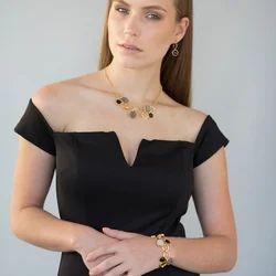 Labradorite Gemstone Necklace for Women