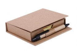 Eco Post It Pad With Pen
