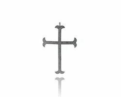 Latin Cross 925 Silver Pendant