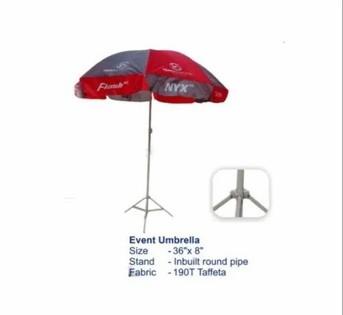 Multicolor Polyester Event & Advertising Umbrella for Promotional
