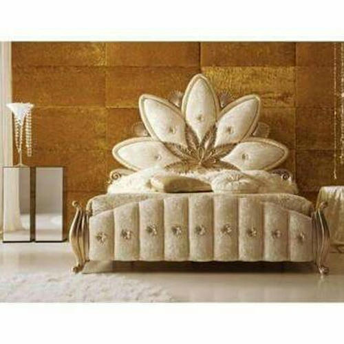 . Modern Wooden Carved Bed  Size  6 X 3 Feet   ID  14228513033