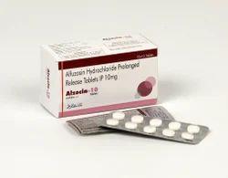 Alfuzosin Hydrochloride 10 MG Tablets