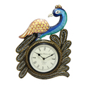 Single Peacock Analog Wall Clock