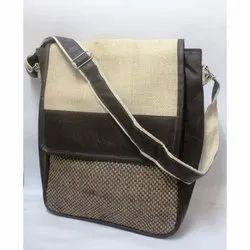 Plain Srishti Jute Laptop Bags