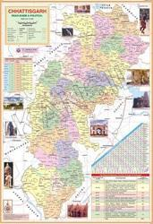 Chhattisgarh For Political State Map