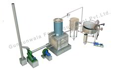 Circular Fryer with Wooden Heat Exchanger