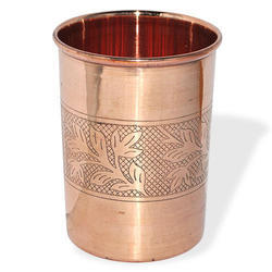 CopperKing Pure Copper Embossed Glass