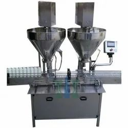 Servo Based Auger Powder Filling Machine